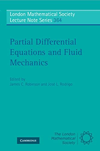 Partial Differential Equations and Fluid Mechanics (London