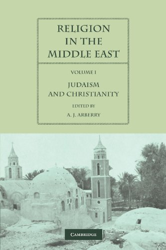 9780521125246: Religion in the Middle East: Three Religions in Concord and Conflict (Religion in the Middle East 2 Volume Paperback Set) (Volume 1)