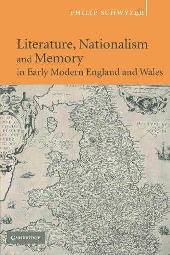 9780521125420: Literature, Nationalism, and Memory in Early Modern England and Wales
