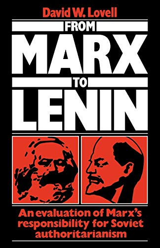 9780521125536: From Marx to Lenin: An evaluation of Marx's responsibility for Soviet authoritarianism