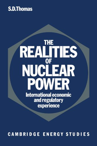 9780521126038: The Realities of Nuclear Power: International Economic and Regulatory Experience (Cambridge Energy and Environment Series)
