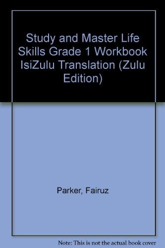 9780521126168: Study and Master Life Skills Grade 1 Workbook IsiZulu Translation (Zulu Edition)