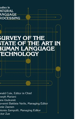 9780521126243: Survey of the State of the Art in Human Language Technology (Studies in Natural Language Processing)