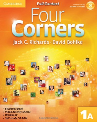9780521126267: Four Corners Full Contact A Level 1 with Self-study CD-ROM