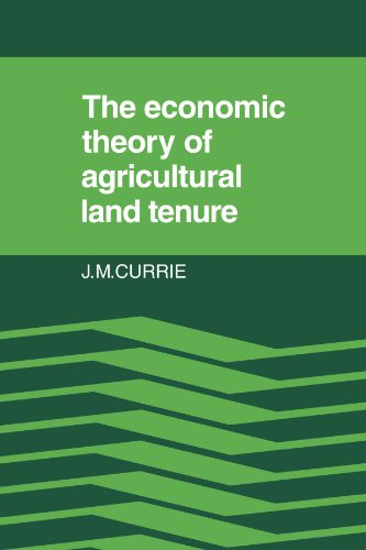 9780521126328: The Economic Theory of Agricultural Land Tenure
