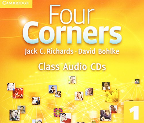 9780521126403: Four Corners Level 1 Class Audio CDs (3)