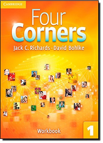 9780521126540: Four Corners Level 1 Full Contact with Self-study CD-ROM: Four Corners  1 Workbook