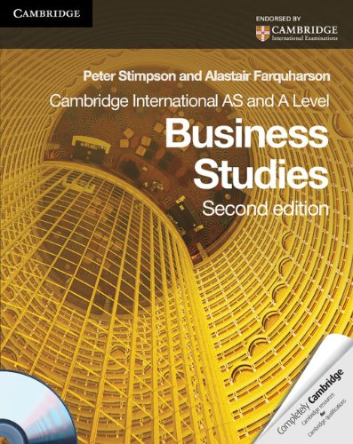 9780521126564: Cambridge International AS and A Level Business Studies Coursebook with CD-ROM (Cambridge International Examinations)
