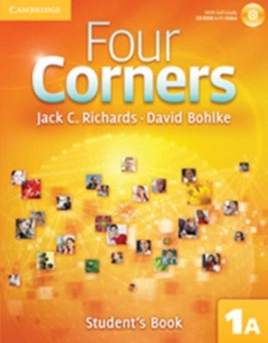 9780521126571: Four Corners Full Contact A Level 1 with Self-study CD-ROM: Four Corners 1A Student's Book A with Self-study CD-ROM