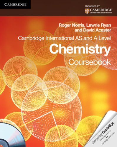9780521126618: Cambridge International AS and A Level Chemistry Coursebook with CD-ROM