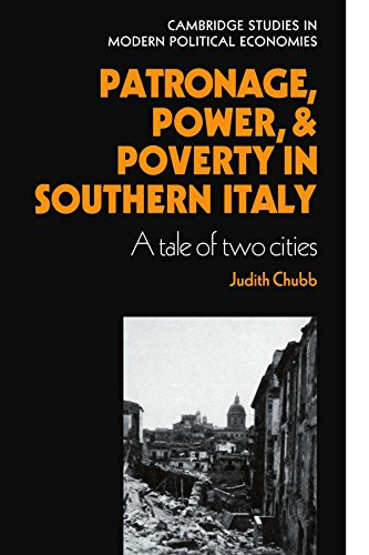 9780521126793: Patronage, Power and Poverty in Southern Italy Paperback (Cambridge Studies in Modern Political Economies)