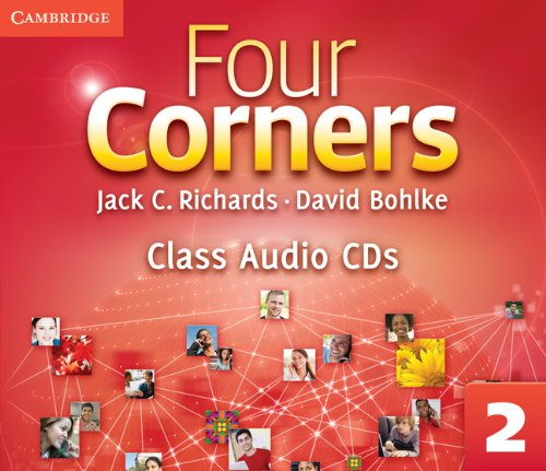 9780521126816: Four Corners Level 2 Class Audio CDs (3)