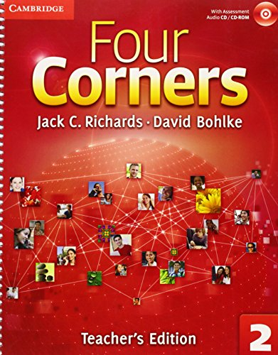 9780521126885: Four Corners Level 2 Teacher's Edition with Assessment Audio CD/CD-ROM