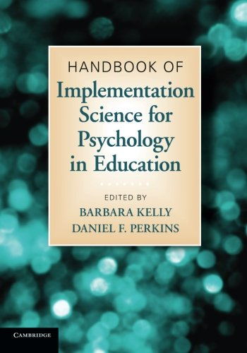 9780521127028: Handbook of Implementation Science for Psychology in Education