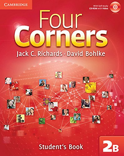 9780521127042: Four Corners Level 2 Full Contact B with Self-study CD-ROM: Four Corners Level 2 Student's Book B with Self-study CD-ROM