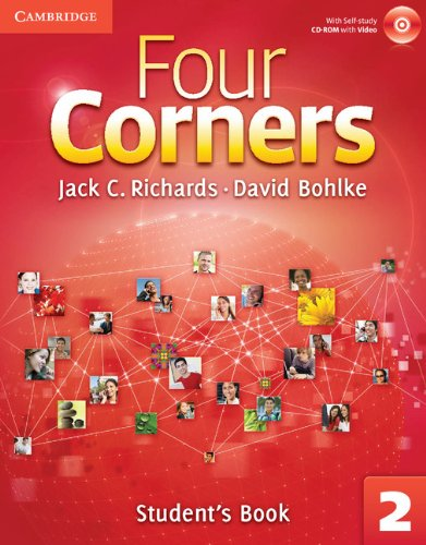 9780521127165: Four Corners Level 2 Student's Book with Self-study CD-ROM (Four Corners Level 2 Full Contact with Self-study CD-ROM)