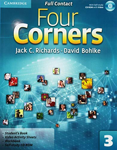 9780521127363: Four Corners  3 Full Contact with Self-study CD-ROM