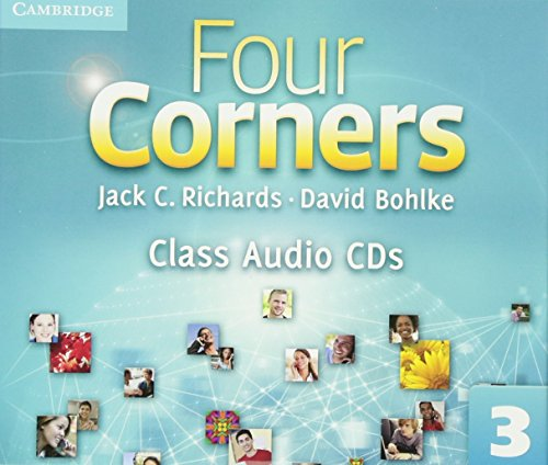9780521127431: Four Corners Level 3 Class Audio CDs (3)