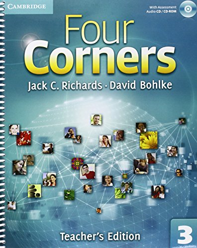 9780521127479: Four Corners Level 3 Teacher's Edition with Assessment Audio CD/CD-ROM