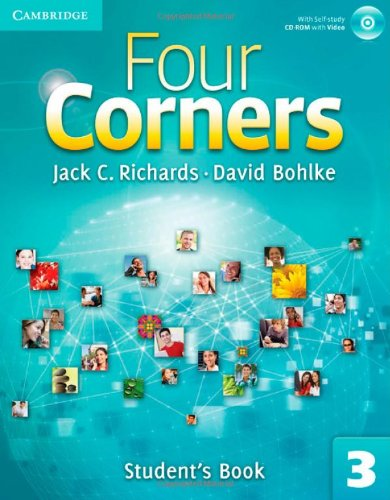 9780521127554: Four Corners Level 3 Full Contact with Self-study CD-ROM: Four Corners  3 Student's Book with Self-study CD-ROM