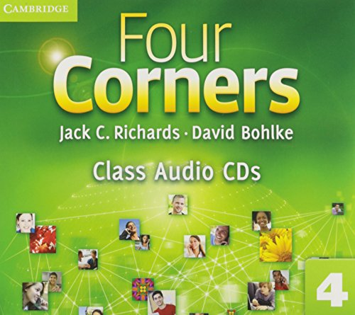 Four Corners Level 4 Class Audio CDs (3) (0521127637) by David Bohlke; Jack C. Richards