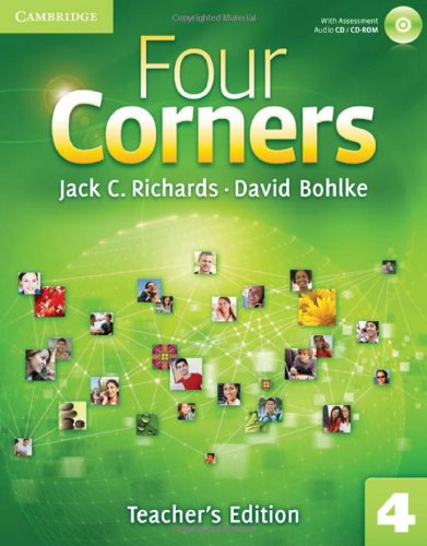 9780521127653: Four Corners Level 4 Teacher's Edition with Assessment Audio CD/CD-ROM