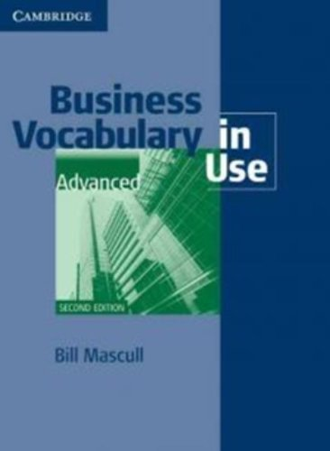 9780521128292: Business Vocabulary in Use Advanced with Answers