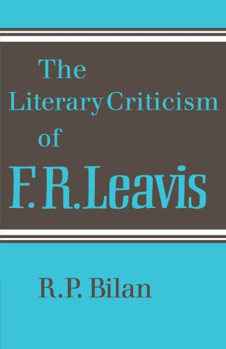 9780521129244: The Literary Criticism of F. R. Leavis