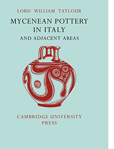 9780521129497: Mycenean Pottery in Italy and Adjacent Areas (Occasional Publications of the Cambridge University Museum of Archaeology and Ethnology)