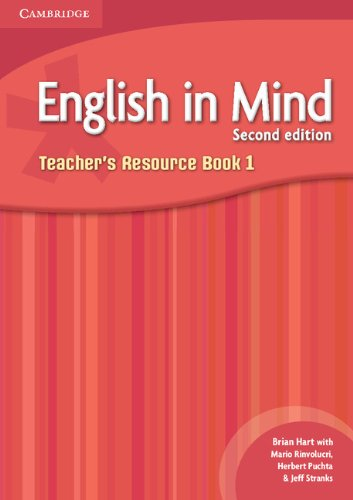 9780521129701: English in Mind 2nd  1 Teacher's Resource Book