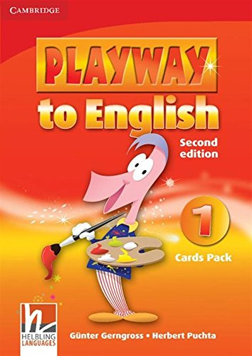 9780521129800: Playway to English 2nd 1 Cards Pack - 9780521129800
