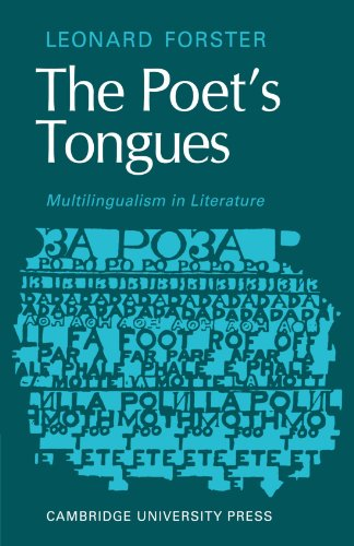 9780521129855: The Poets Tongues: Multilingualism in Literature: The de Carle Lectures at the University of Otago 1968