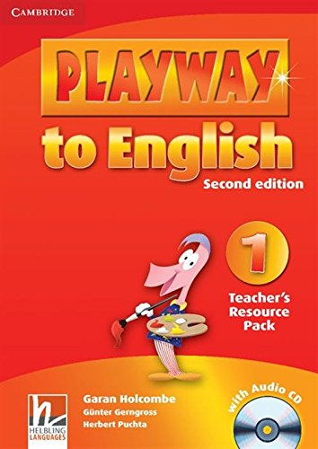 9780521129879: Playway to English Level 1 Teacher's Resource Pack with Audio CD