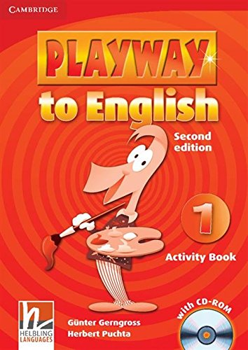 9780521129930: Playway to English Level 1 Activity Book with CD-ROM