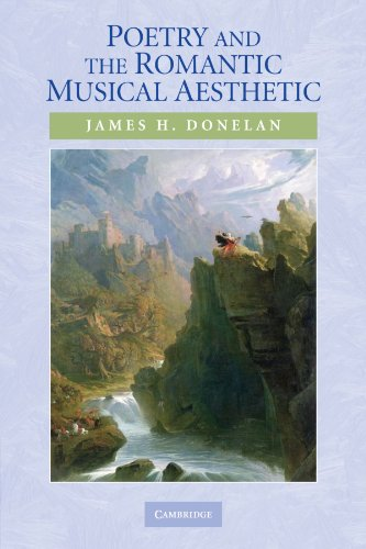 9780521130165: Poetry and the Romantic Musical Aesthetic