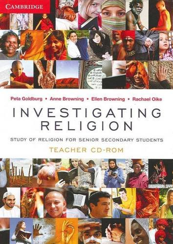 Investigating Religion Teacher CD-Rom (Compact Disc): Rachael Oike