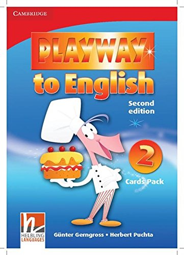 9780521131025: Playway to English 2nd 2 Flash Cards Pack - 9780521131025
