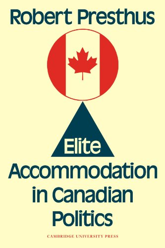 9780521131056: Elite Accommodation in Canadian Politics Paperback