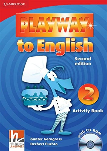 9780521131148: Playway to English Level 2 Activity Book with CD-ROM