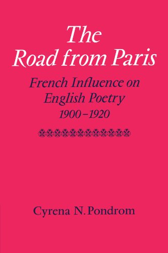 9780521131193: The Road from Paris: French Influence on English Poetry 1900-1920