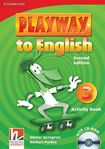 9780521131209: Playway to English 2nd  3 Activity Book with CD-ROM