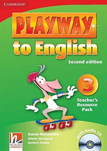 9780521131254: Playway to English 2nd  3 Teacher's Resource Pack with Audio CD