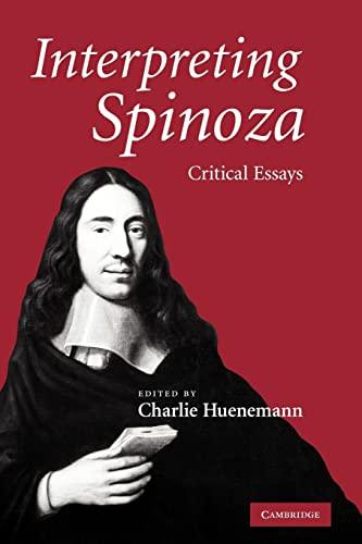 9780521131308: Interpreting Spinoza: Critical Essays