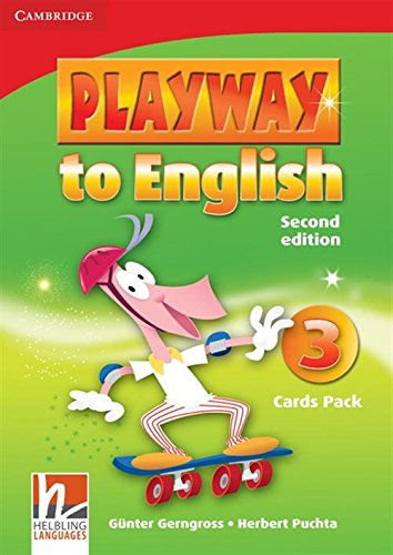 9780521131315: Playway to English 2nd  3 Flash Cards Pack