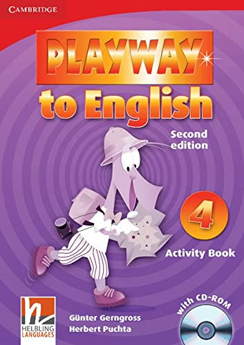 9780521131421: Playway to English Level 4 Activity Book with CD-ROM - 9780521131421