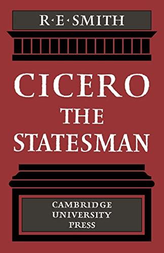 9780521131438: Cicero the Statesman Paperback