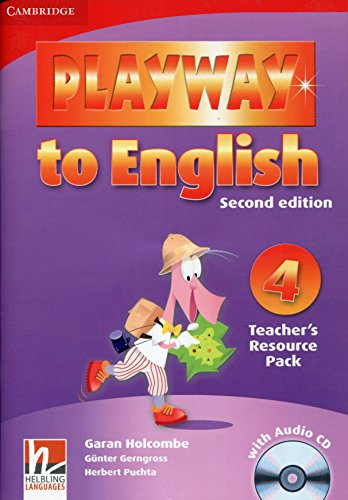 9780521131490: Playway to English Level 4 Teacher's Resource Pack with Audio CD