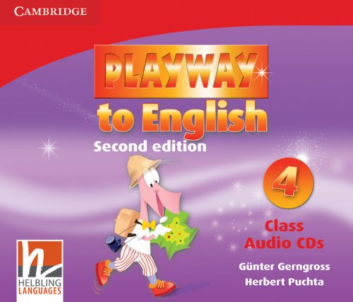 9780521131520: Playway to English Level 4 Class Audio CDs (3)