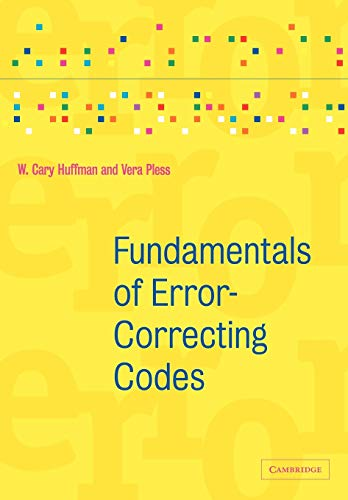 9780521131704: Fundamentals of Error-Correcting Codes Paperback