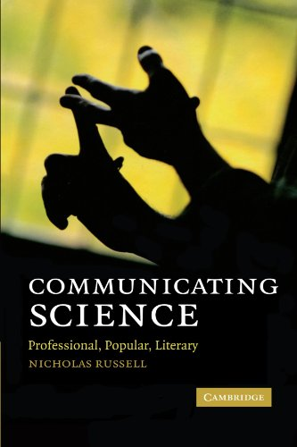9780521131728: Communicating Science: Professional, Popular, Literary